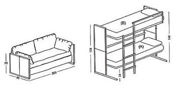 二段ベッド-2