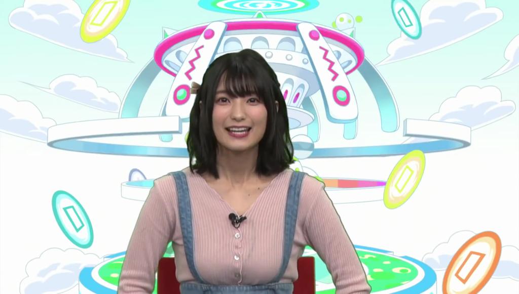 高野麻里佳さんのお顔と胸強調衣装が良かった「クラフィTVキャラバン ...