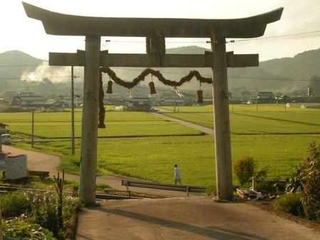 志賀神社一の鳥居
