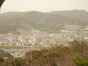 己斐山と放水路