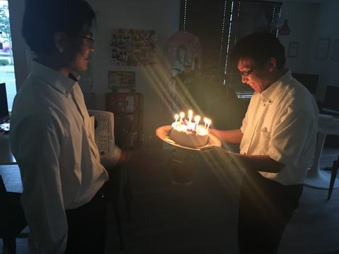 赤羽さん35歳誕生日