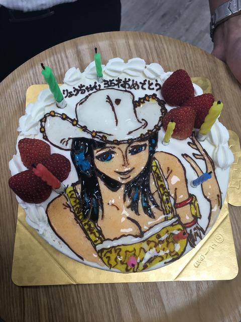 赤羽さん35歳誕生日3