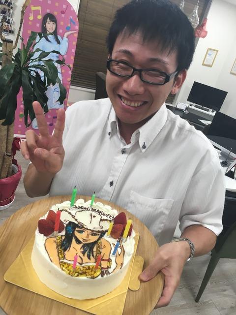 赤羽さん35歳誕生日2