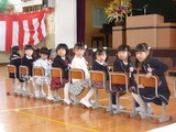 宮小入学式 女児