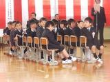 宮小入学式 男児