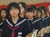 朝日中入学式