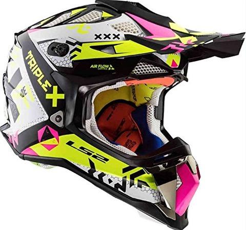 蛍光カラーヘルメットLS2