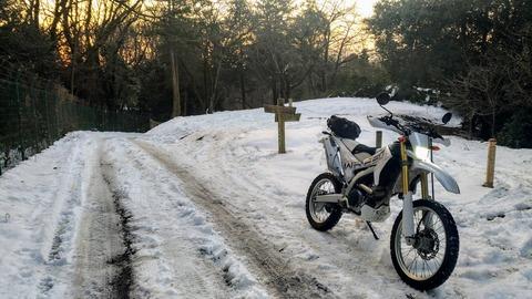 雪上 WR250R
