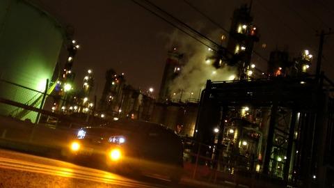 川崎 浮島町 工場夜景 アルトワークス