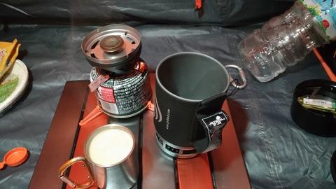 【キャンプ】MTBにキャンプ道具を積んで。。その3