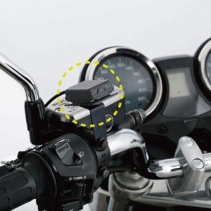 バイク用のETCアンテナの写真