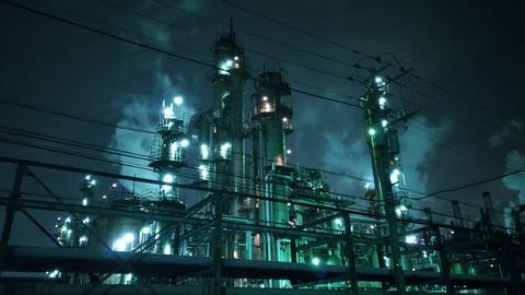 川崎 浮島町 工場夜景2