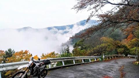 東京で見られる雲海 WR250R