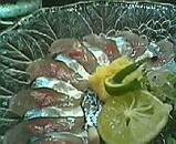 新秋刀魚造り