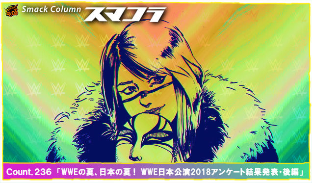 Count.236 「WWEの夏、日本の夏! WWE日本公演2018アンケート結果発表・後編」