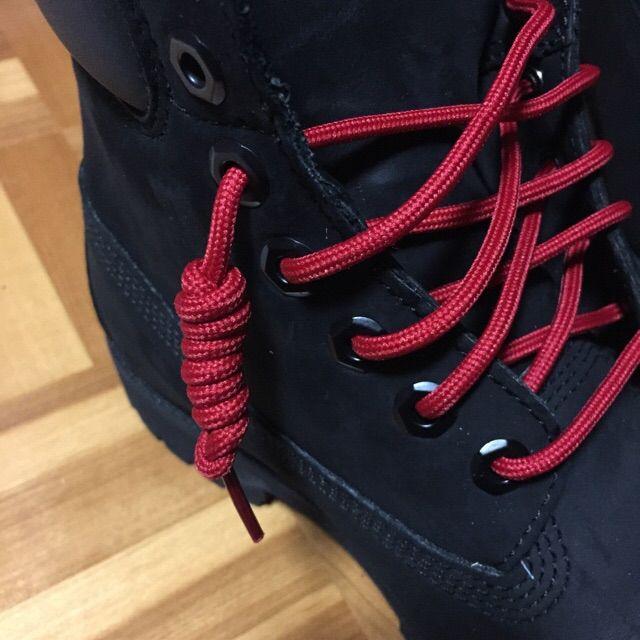 ティンバーランドの靴紐をクルクルに結ぶ方法|シューレース・Timberland