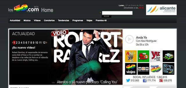 Los40.com: Música, Radio, Videos y Conciertos