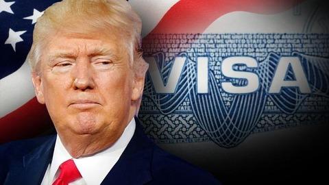 Trump+Visa