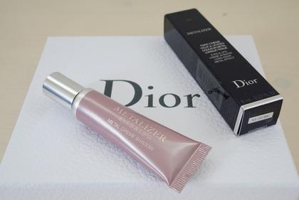 Diorメタライザーピンク8