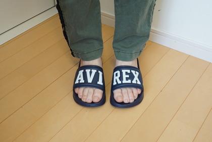 AVIREX シャワーサンダル (20)