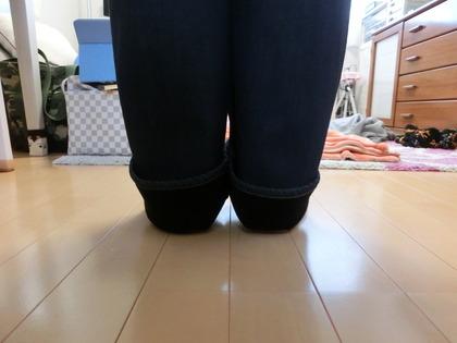 裏地あったかパンツお直し (3)