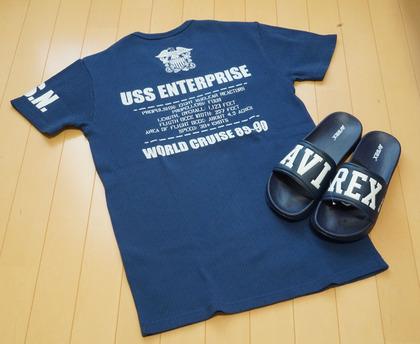 AVIREX Tシャツ (4)-R