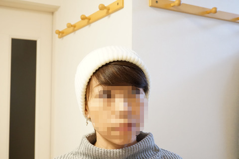 ローズリーファームニット帽13-R