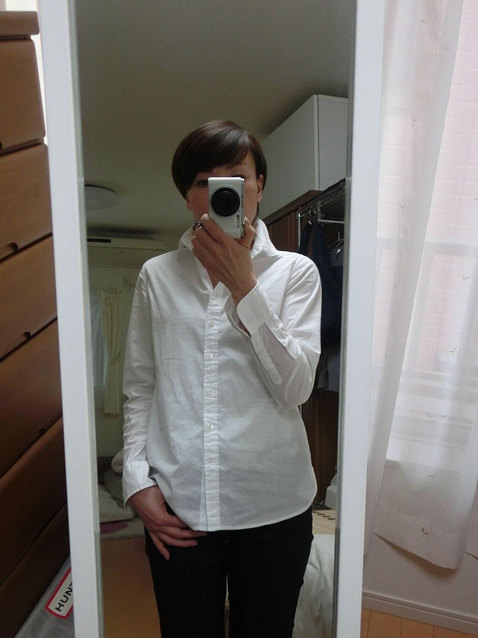 新品 無印良品 ブロードシャツ オーガニックコットン メンズ Sサイズ ライトピンク 長袖