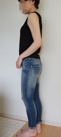 ZARAダメージジーンズ (22)-R