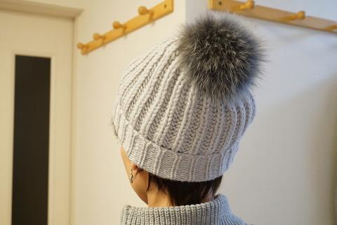 PLSTボンボンニット帽2