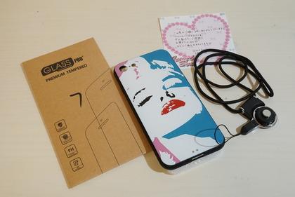 マリリン似iPhoneケース2