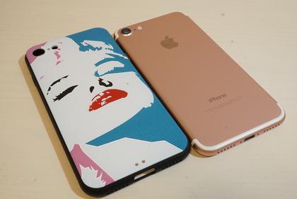 マリリン似iPhoneケース9