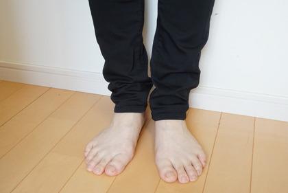 しまむら 素肌涼やかパンツ黒 (9)