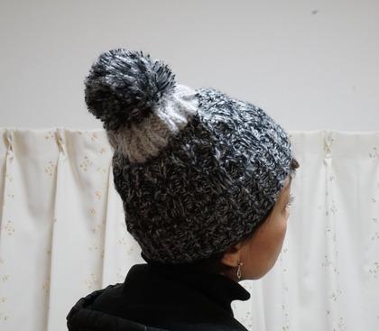 しまむらニット帽 (25)
