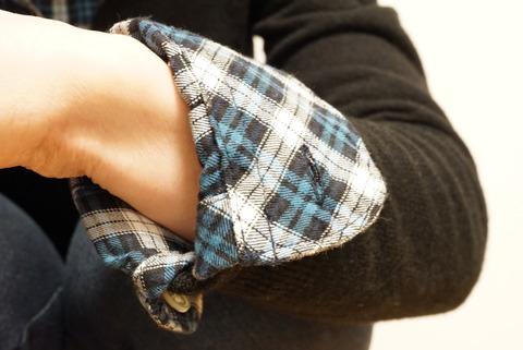 PLSTネルシャツ (3)