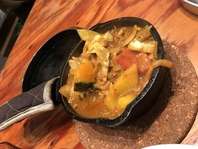 野菜を食べるカレー camp (5)