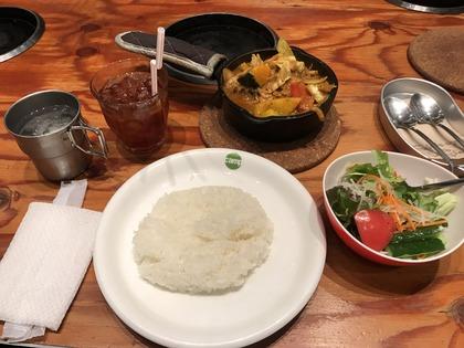 野菜を食べるカレー camp (7)