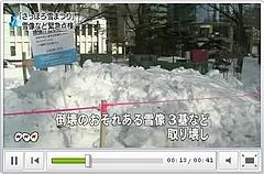 雪まつり雪像事故で緊急点検実施