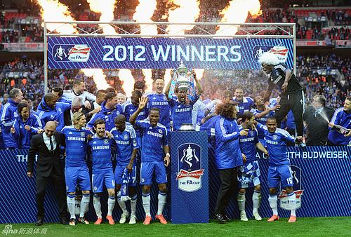 Chelsea:2012 FA CUP Champion