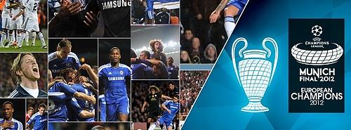 Chelsea: 2012 European Champions Title