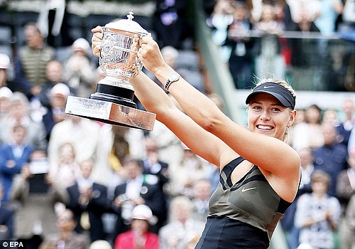 French Open 2012: Maria Sharapova 003