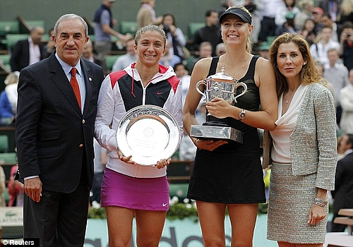 French Open 2012: Maria Sharapova 004