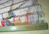 Paul&Joe青い鳥扇子 骨