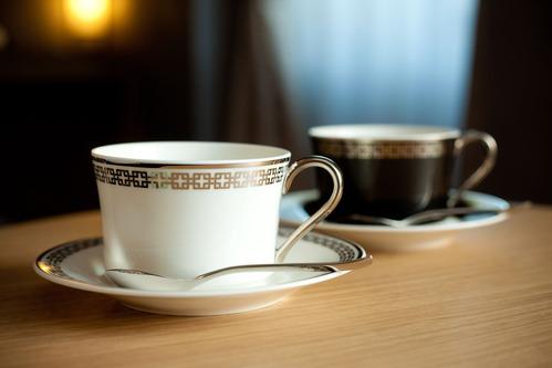 銀月コーヒーカップ