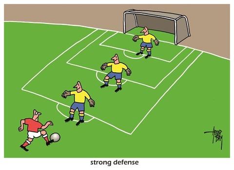 Football defence