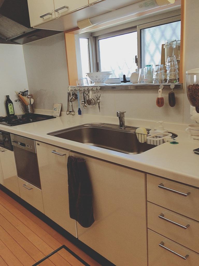 キッチン公開①*無印良品のタオル&キッチンマットがない訳。