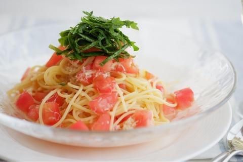 【レシピ】うちの夏の定番!とっておき「冷製トマトパスタ」