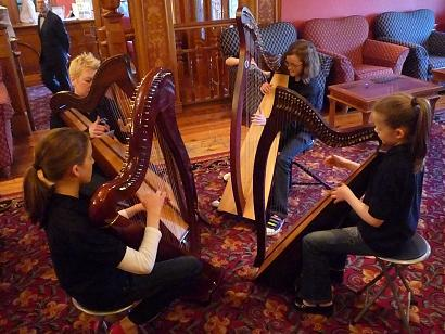 harp quartetto