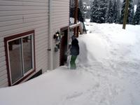 Ski in,, snowboard in.