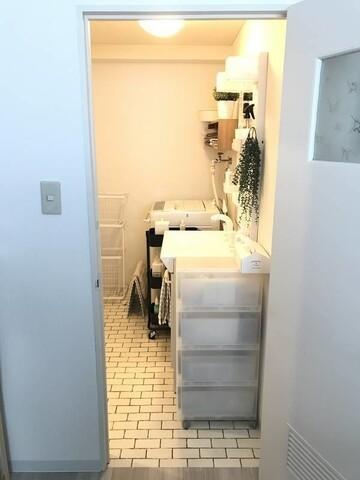 【無印良品】「パイン材ユニットシェルフ」でトイレ&洗面所収納を快適に。
